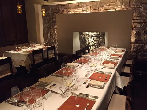 福岡市中央区赤坂 la table de Provence(ラ・ターブル・ド・プロヴァンス) 座席
